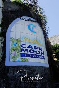Capri Moon Ristorante ร้านที่เราฝากท้องสำหรับมื้อเที่ยง